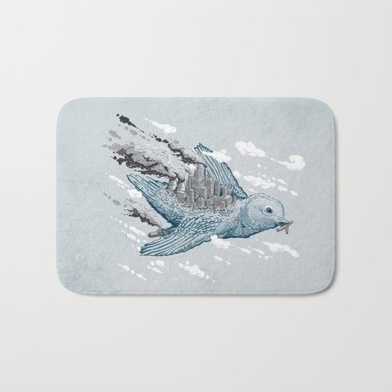 Cleaning the World Bath Mat