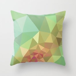 Courting Summer Throw Pillow