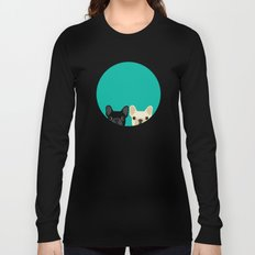 2 French Bulldogs Long Sleeve T-shirt