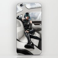 vinyl iPhone & iPod Skins featuring Vinyl by Yvan Quinet