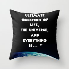 Forty Four Throw Pillow