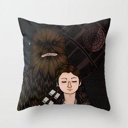 Han&Chewie Throw Pillow