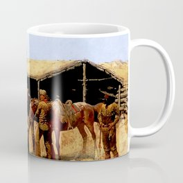 "Frederic Remington Western Art ""Pony Express"" Coffee Mug"