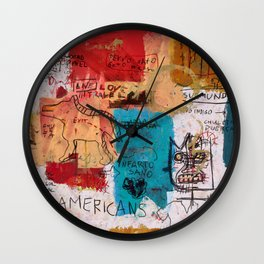 Por Onga Wall Clock