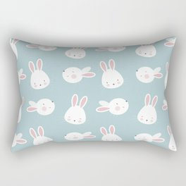 Cute Bunnies Rectangular Pillow