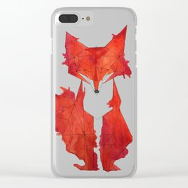 Fitz the Fox Clear iPhone Case