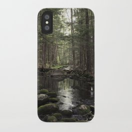 Mossy Brook iPhone Case