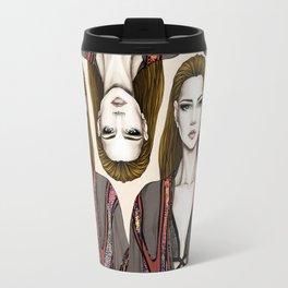 Gucci illustration Travel Mug