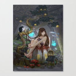 Cam Canvas Print