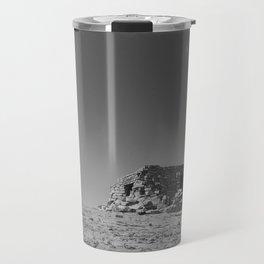 """A Castle On Sandia"" Travel Mug"