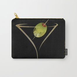 Olive Martini Carry-All Pouch