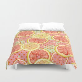 Fresh & Fruity Duvet Cover
