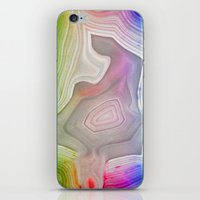 mineral iPhone & iPod Skins featuring MINERAL RAINBOW by Catspaws