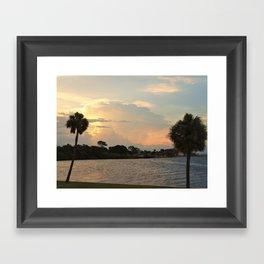 Evening View Framed Art Print