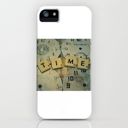 Time goes and goes iPhone Case