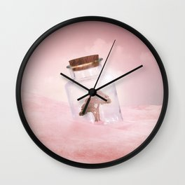 Saving Nature II Wall Clock