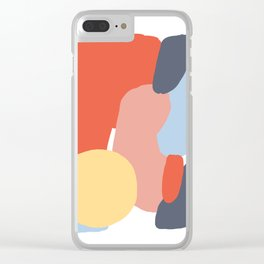 abstraction vol.13 Clear iPhone Case