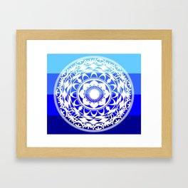 Iroquois Sea Shell Framed Art Print