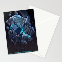 In the arms of pain Stationery Cards