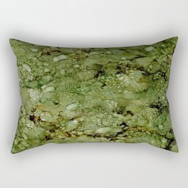 Green Camo Rectangular Pillow