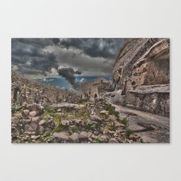 Sicilian Castle Canvas Print