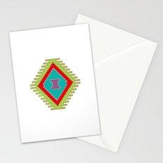 Persian Kilim  - Plain Background Stationery Cards