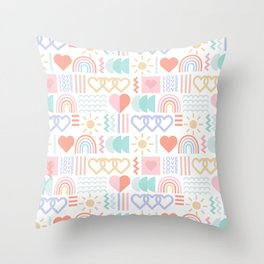 Loving Color Throw Pillow