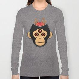 3rd Eye Chimp & Psychedelic Mushrooms Long Sleeve T-shirt