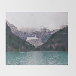 Lake Louise Throw Blanket