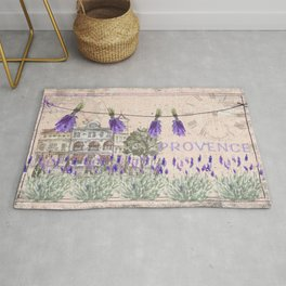 Provence France - my love  - Lavender and Summer Rug