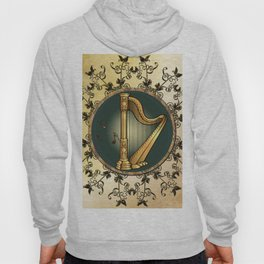 Golden harp Hoody