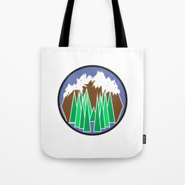 Mountain Getaway Tote Bag