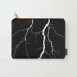 Lightning (Black & White) Carry-All Pouch