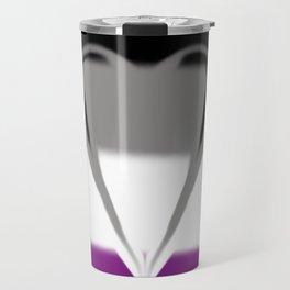 Asexual Pride Travel Mug