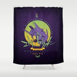022 Evangelion Shower Curtain