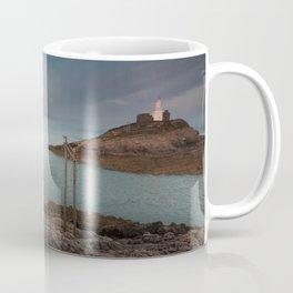 Mumbles lighthouse Swansea Coffee Mug