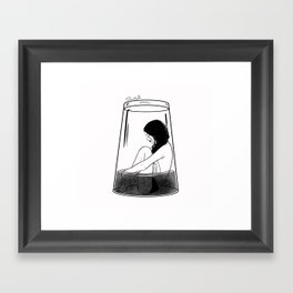 body heat Framed Art Print