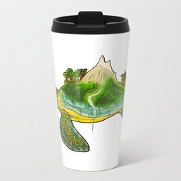Turtle Island Metal Travel Mug