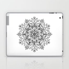 Thrive - Monochrome Mandala Laptop & iPad Skin