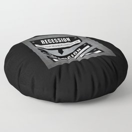 No Recovery With Obama Floor Pillow