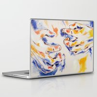 body Laptop & iPad Skins featuring Body by Peter Dannenbaum