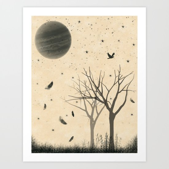 When I dream Art Print