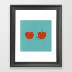 Bad Apple Framed Art Print