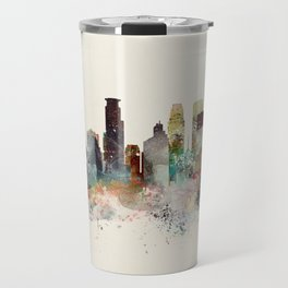 minneapolis minnesota skyline Travel Mug
