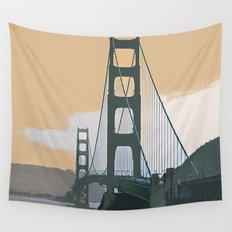 Golden Gate Bridge 003 Wall Tapestry