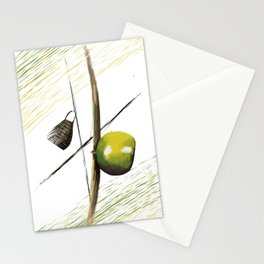 The soul of capoeira Stationery Cards