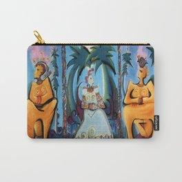 Bird Goddess #2/3 Carry-All Pouch