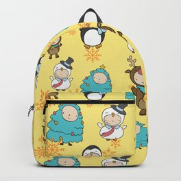 Children Christmas Costumes Pattern 3 Backpack