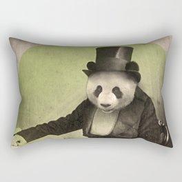 Proper Panda Rectangular Pillow