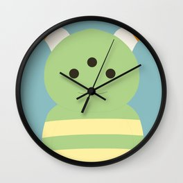 Little Monster 2 Wall Clock